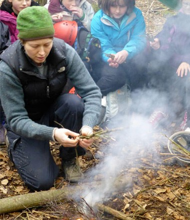 Bushcraft Kids Party at Deers Leap