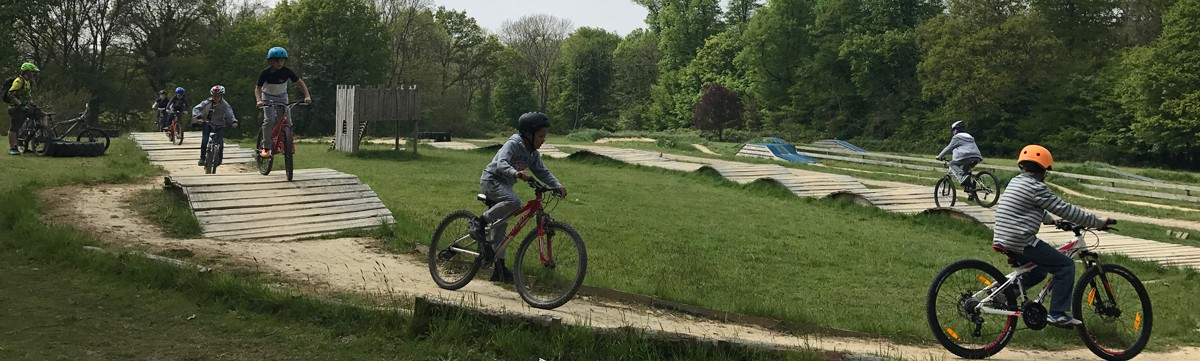 Mountain biking for kids at Deers Leap