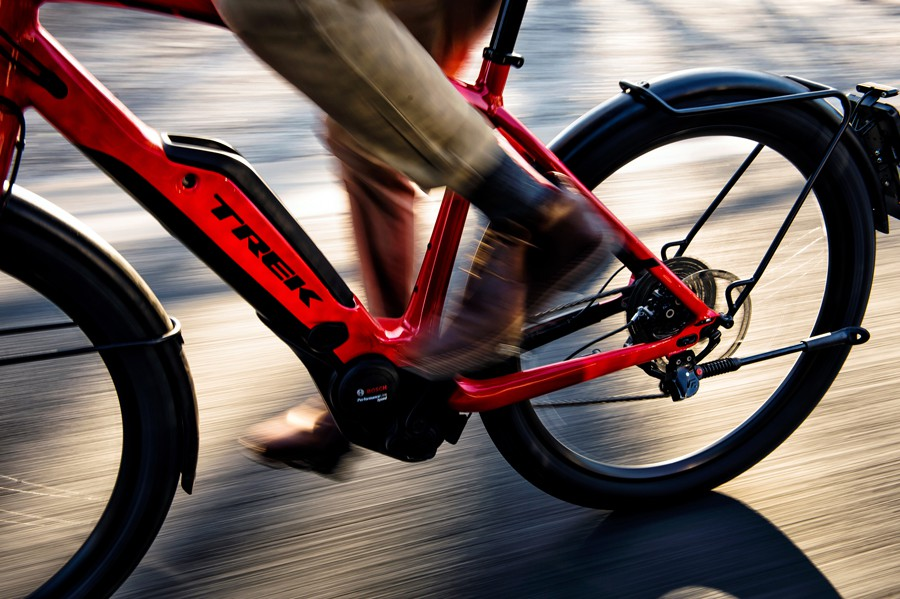 Electric bikes from Trek at Deers Leap